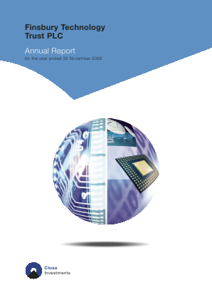 Allianz Technology Trust Plc annual report 2006