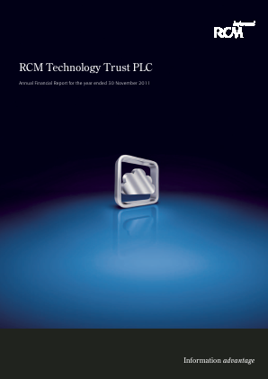 Allianz Technology Trust Plc annual report 2011