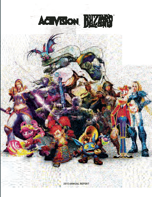 Activision Blizzard Incorporated annual report 2015