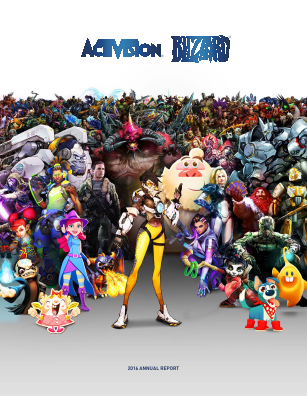 Activision Blizzard Incorporated annual report 2016