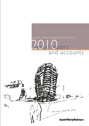 Aukett Swanke Group Plc annual report 2010