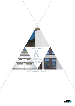 Aukett Swanke Group Plc annual report 2016