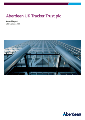 Aberdeen UK Tracker Trust Plc annual report 2015