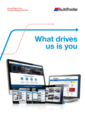 Auto Trader Group Plc annual report 2015