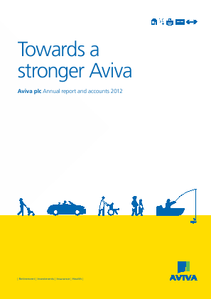 Aviva annual report 2012