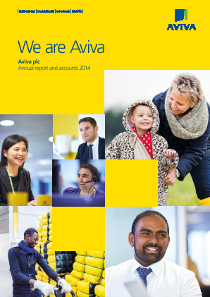 Aviva annual report 2014