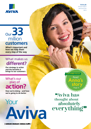 Aviva annual report 2015