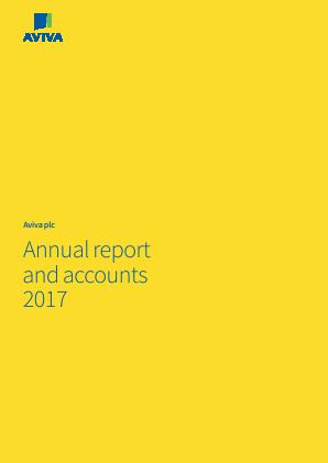 Aviva annual report 2017
