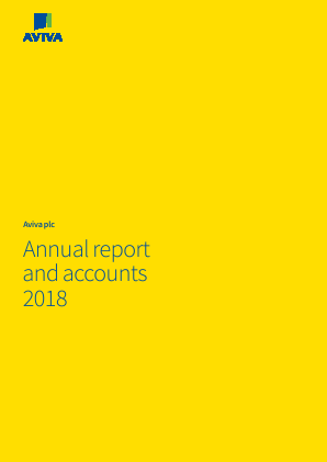 Aviva annual report 2018