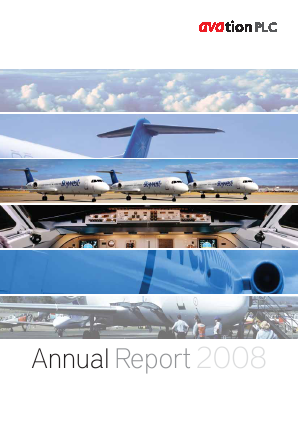 Avation Plc annual report 2008