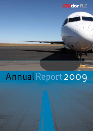 Avation Plc annual report 2009