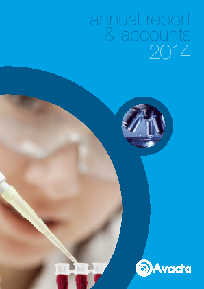 Avacta Group Plc annual report 2014
