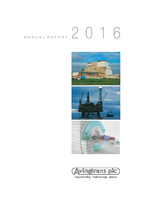 Avingtrans Plc annual report 2016