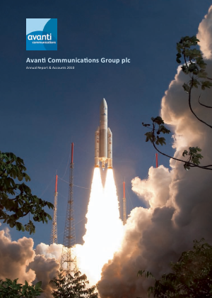 Avanti Communications Group Plc annual report 2010