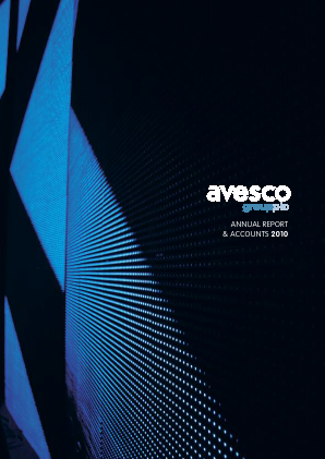 Avesco Group Plc annual report 2010