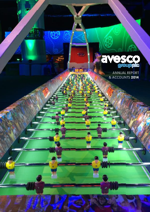 Avesco Group Plc annual report 2014