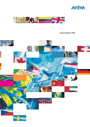 Aveva Group annual report 2003