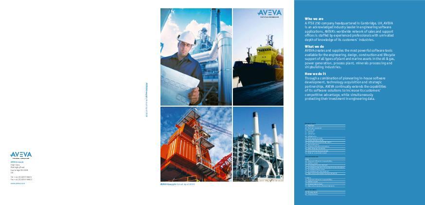 Aveva Group annual report 2009