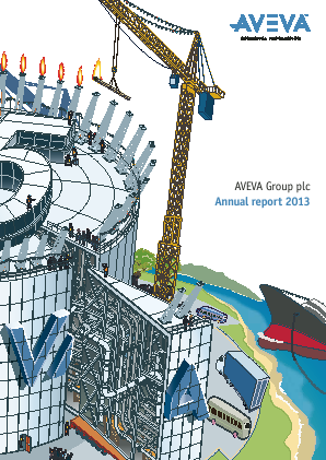 Aveva Group annual report 2013