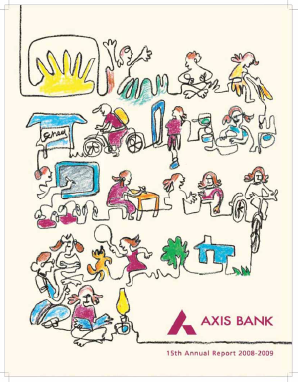 Axis Bank annual report 2009