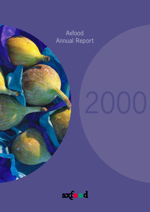 Axfood annual report 2000