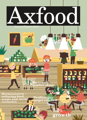 Axfood annual report 2015