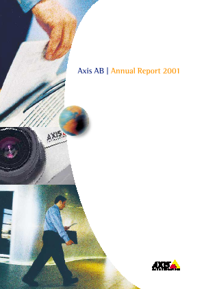 Axis annual report 2001