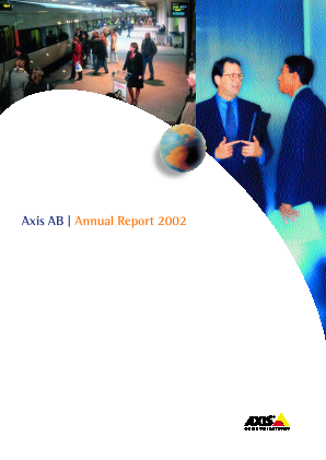 Axis annual report 2002