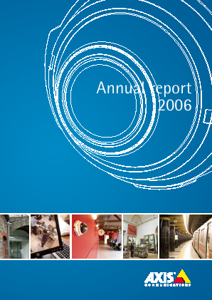 Axis annual report 2006