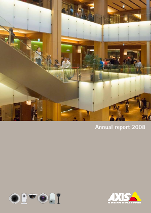 Axis annual report 2008
