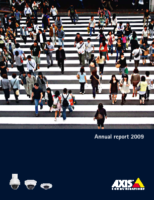 Axis annual report 2009