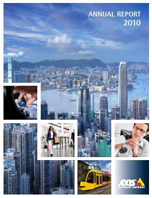 Axis annual report 2010