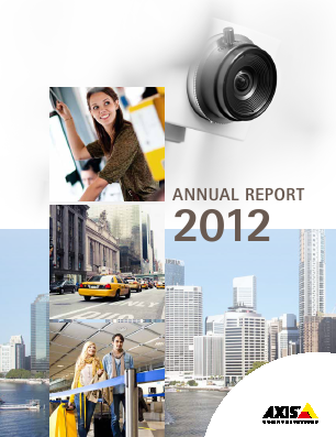 Axis annual report 2012