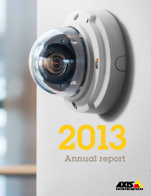 Axis annual report 2013