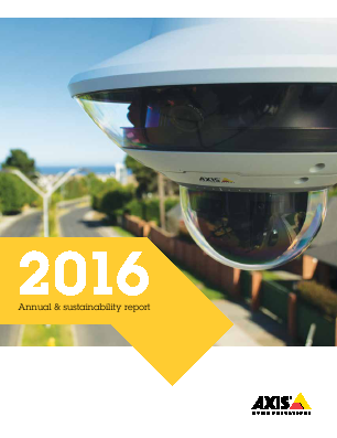 Axis annual report 2016