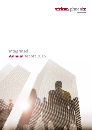 African Phoenix Investments annual report 2016