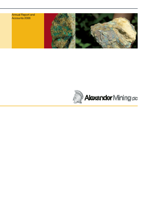 Alexander Mining annual report 2006