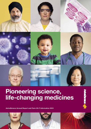AstraZeneca annual report 2013
