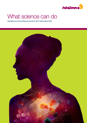 AstraZeneca annual report 2014