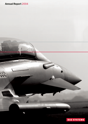 BAE Systems annual report 2004