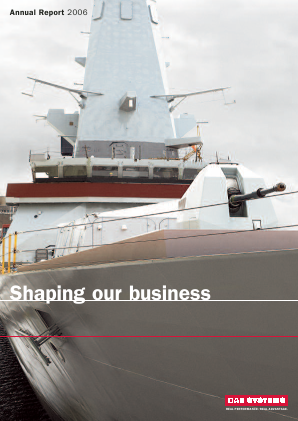 BAE Systems annual report 2006