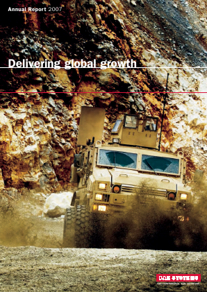 BAE Systems annual report 2007