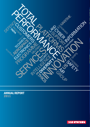 BAE Systems annual report 2011