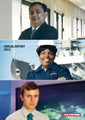 BAE Systems annual report 2012