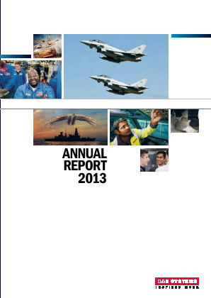BAE Systems annual report 2013