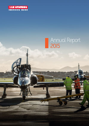 BAE Systems annual report 2015