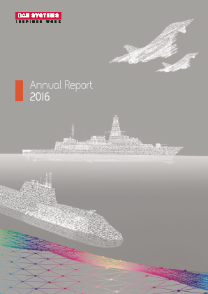 BAE Systems annual report 2016