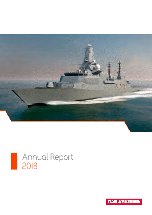 BAE Systems annual report 2018