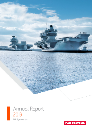 BAE Systems annual report 2019