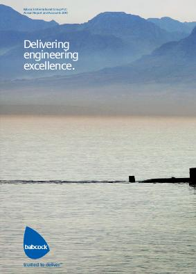 Babcock International Group Plc annual report 2010